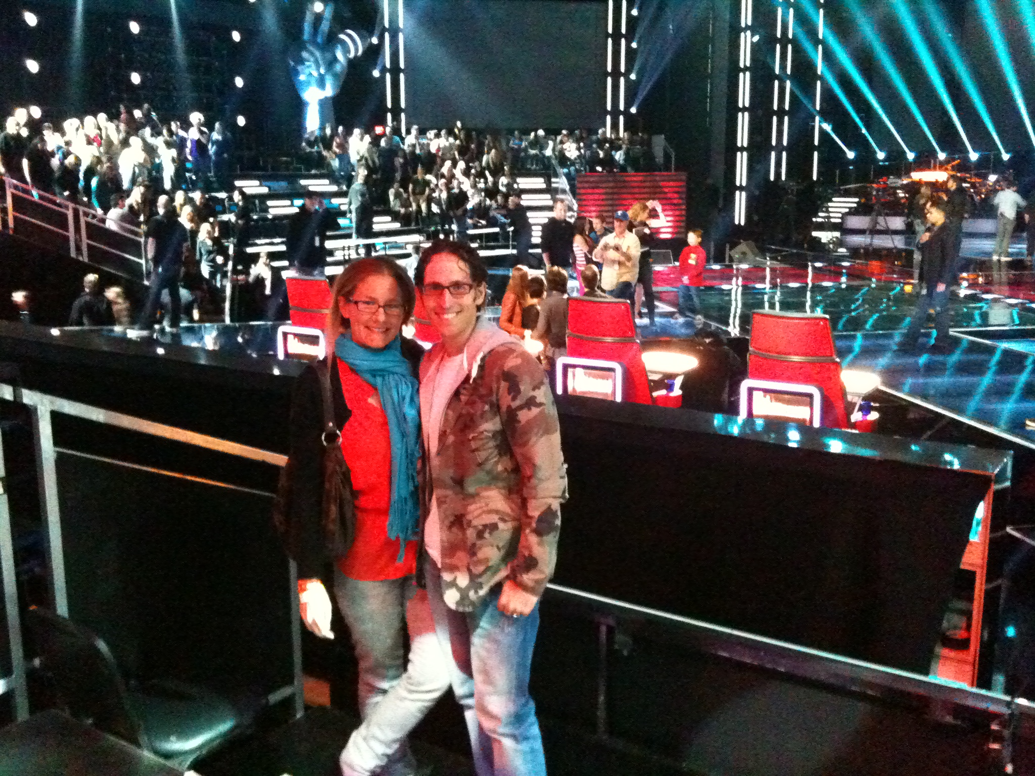 The Voice: Live Taping